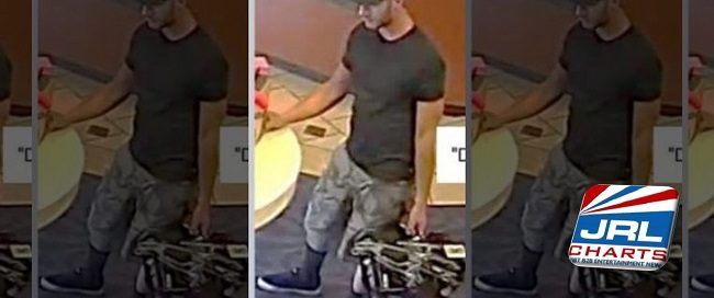 adult store robbery - Police Hunt for Adult Store 'Devil Face' tattoo Lingerie Bandit