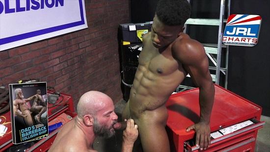 gay porn - Rocco Steele's Dad's Bareback Collision Shop Dragon Media