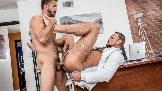 free gay porn - The Doctor Is In...Me Streaming on Icon Male Network