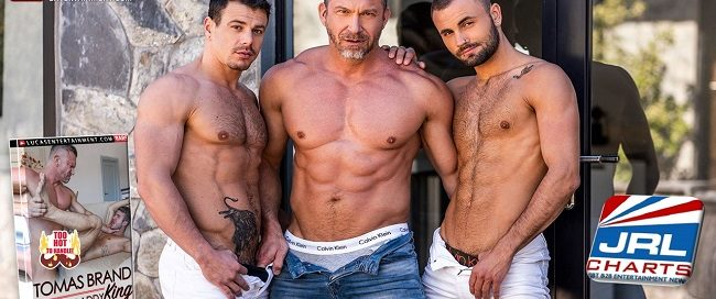 new gay porn - Tomas Brand Muscle Daddy King - Tomas Brand-Jeffrey Lloyd-Jesse Santana