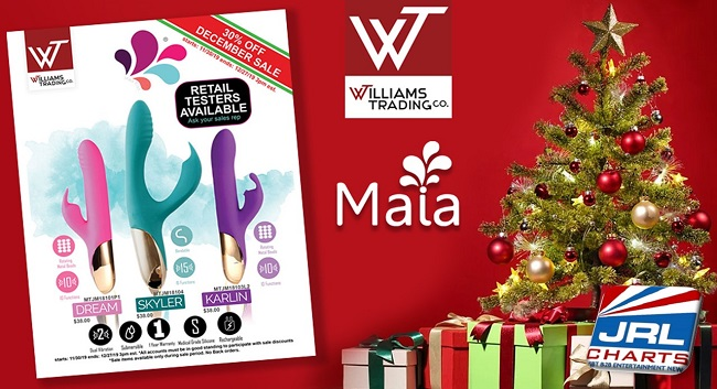 women sex toys - Williams Trading Co., and Maia Toys Offer New Additions in Time for Sale