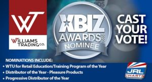 e-Learning courses - Williams Trading Co. scores with 3 XBIZ Awards Nominations