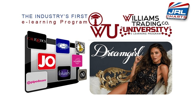 e-Learning courses-Williams Trading Launch Dreamgirl Lingerie e-course on WTU