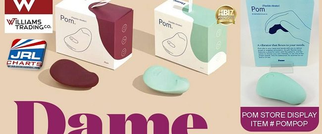 womens sex toys - Williams Trading Offers Free Dame Products 'Pom' Display