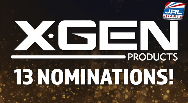 pleasure products - Xgen Products captures 13 Noms - AVN Awards, 'O' Awards