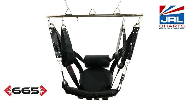 Restraints, Bondage Gear & Accessories-Red Deluxe Sling Kit
