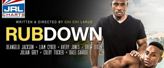 Chi Chi LaRue's Rubdown streets on DVD and VOD