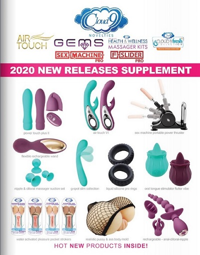 sex machines - Cloud 9 Novelties Health & Wellness New Relase Supplemental Catalog