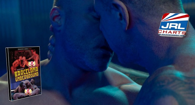 bareback gay porn - Rocco Steele's Barcelona Underground - Dragon Media