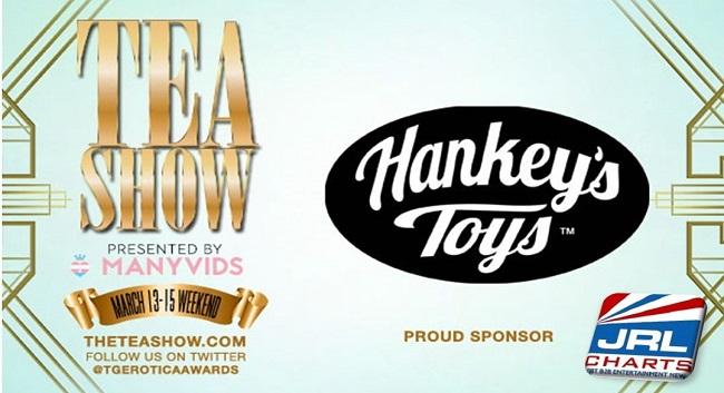 transgender erotic awards 2020 - Hankey's Toys named TEAs Awards Platinum Plus Sponsor