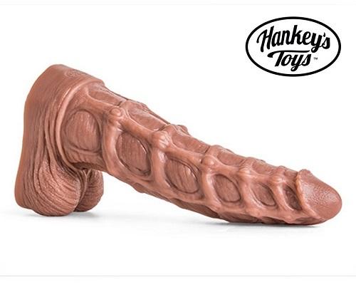 Hankeys-Toys-Seahorse-Dildo-beige