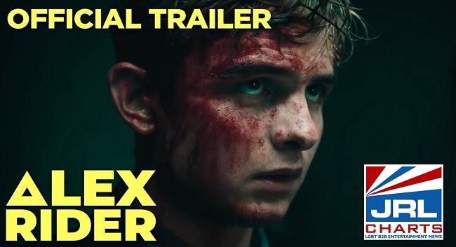 Alex Rider series - Otto Farrant is ALEX RIDER (2020) Watch Official Trailer
