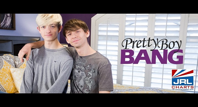 gay twinks - Pretty Boy Bang - Caleb Gray breaks in Aaron Roberts