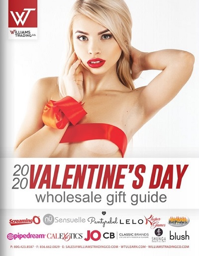 pleasure products - Williams Trading Co. - Expanded 2020 Valentine's Day Essentials Catalog