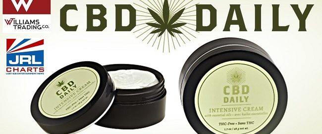 CBD products - Williams Trading Expands Earthly BodyⓇ's CBD Daily™