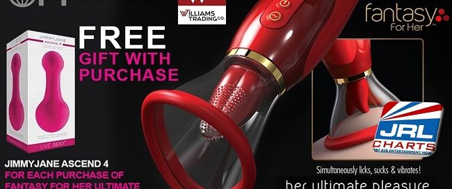 Williams Trading Offers Free Massager for Valentine's Day
