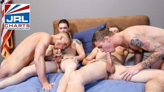 free gay porn - Active Duty-Raw-4-Way