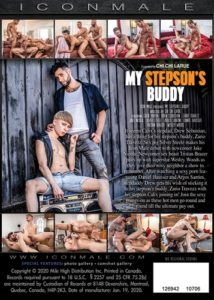 Chi Chi LaRue's My Stepson's Buddy DVD back-cover-Icon Male-MHM