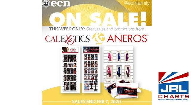 ECN offers Aneros and CalExotic Valentine's Day Deals
