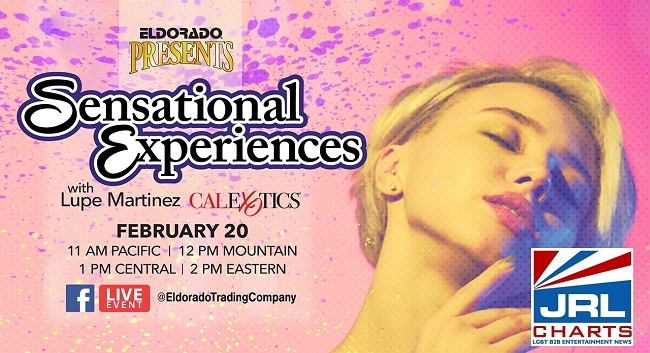 best sex toys - Eldorado Presents Sensational Experiences Facebook Live