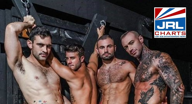 Ganging Up On Allen King - 4-Man Gang Bang Trailer Drops