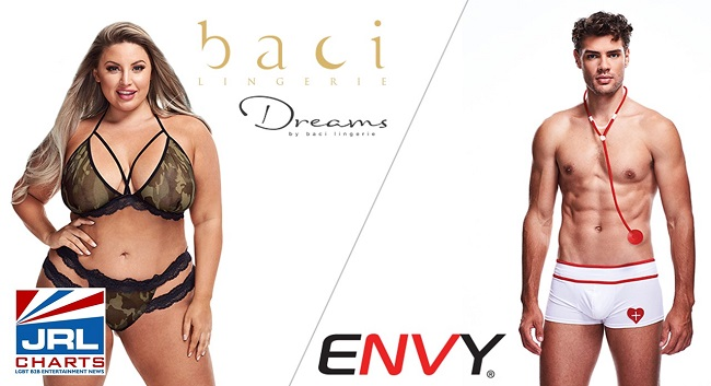 New Costumes from Baci, Envy Shipping from Xgen Products