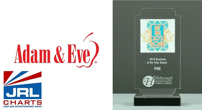 PHE-Adam & Eve Named Local Business of the Year