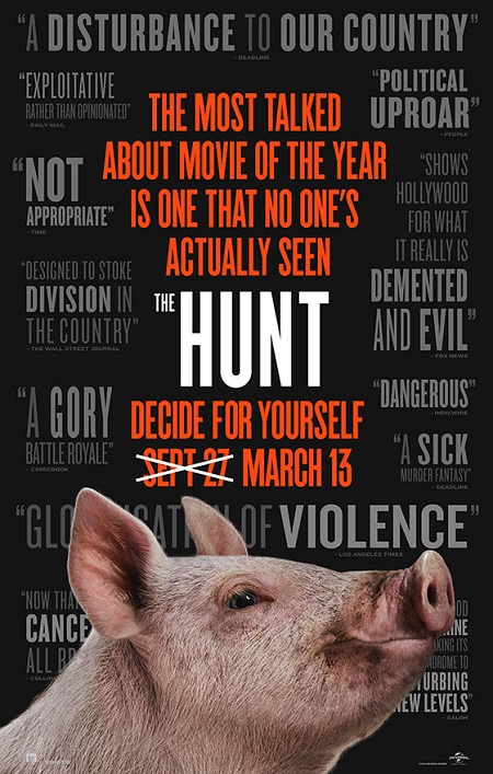 The Hunt-Universal-Pictures-Official-Poster-JRL-CHARTS