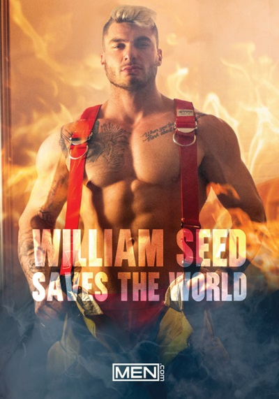 gay porn new releases - William Seed Saves the World DVD