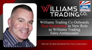 Williams Trading Co. taps Paul Reutershan as Sales Ambassador