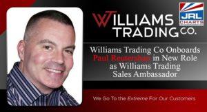 Williams Trading Co. taps Paul Reutershan as Sales Ambassador