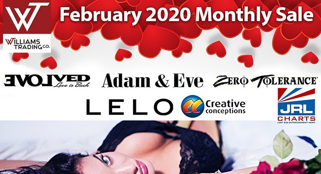sex toy sale - Williams Trading Puts Love in the Air with February Sale