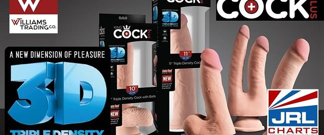 best sex toy - Williams Trading ships Triple Density King Cock Plus