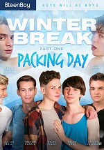 free gay porn - Winter Break Part 1 - Packaging Day DVD
