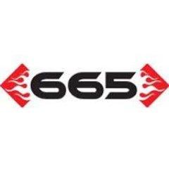 665 Leather Logo