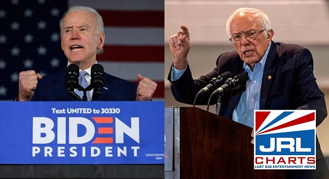 Biden wins the South but Sanders wins California