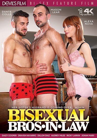 Bisexual Bros In Law DVD - Front-Cover-Devils Films