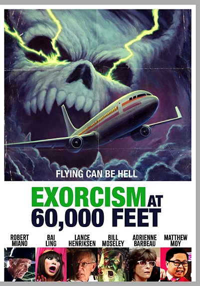 EXORCISM AT 60,000 Feet (2020) Poster - Shout Factory