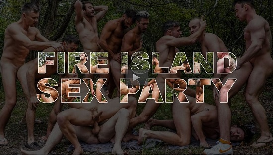 free gay porn movies - Fire-Island-Sex-Party-(2020)-NSFW-Trailer-Lucas-Entertainment