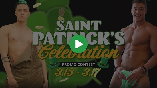Flirt4Free St Patricks Day Contest Video