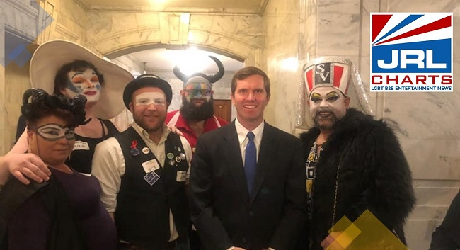 Gov. Andy Beshear defends Photo with drag queens