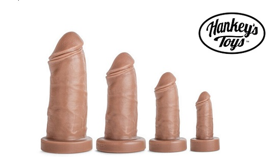 Mr Hankey Mateo Dildo Collection-Four-Sizes