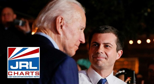 politics - Pete Buttigieg Officially Endorses Joe Biden for President