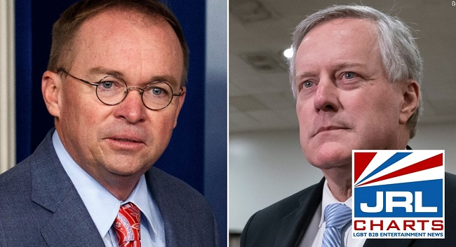 Trump dumps Chief of Staff Mick Mulvaney, Mark Meadows to Replace