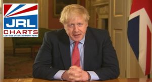 UK prime minister Boris Johnson Announce Lockdown