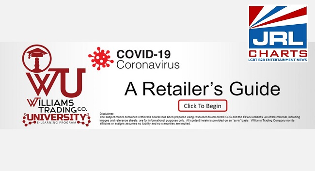 Williams Trading Co-Releases New Course on Williams Trading University – A Retailers Guide to COVID-19