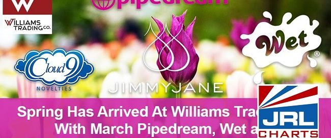 Williams Trading Co. Spring Sale - Pipedream, Wet and Cloud 9 Novelties Announced
