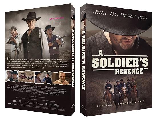 A Soldier's Revenge (2020) DVD