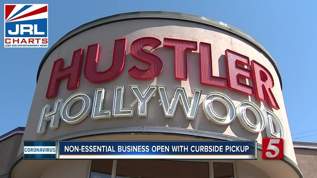 Hustler Hollywood Begin Curbside Pick-Up at 5 U.S. Stores