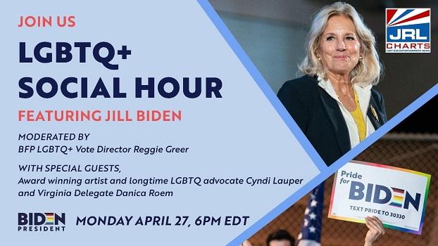 LGBTQ+ Social Hour ft. Jill Biden Confirmed for April 27